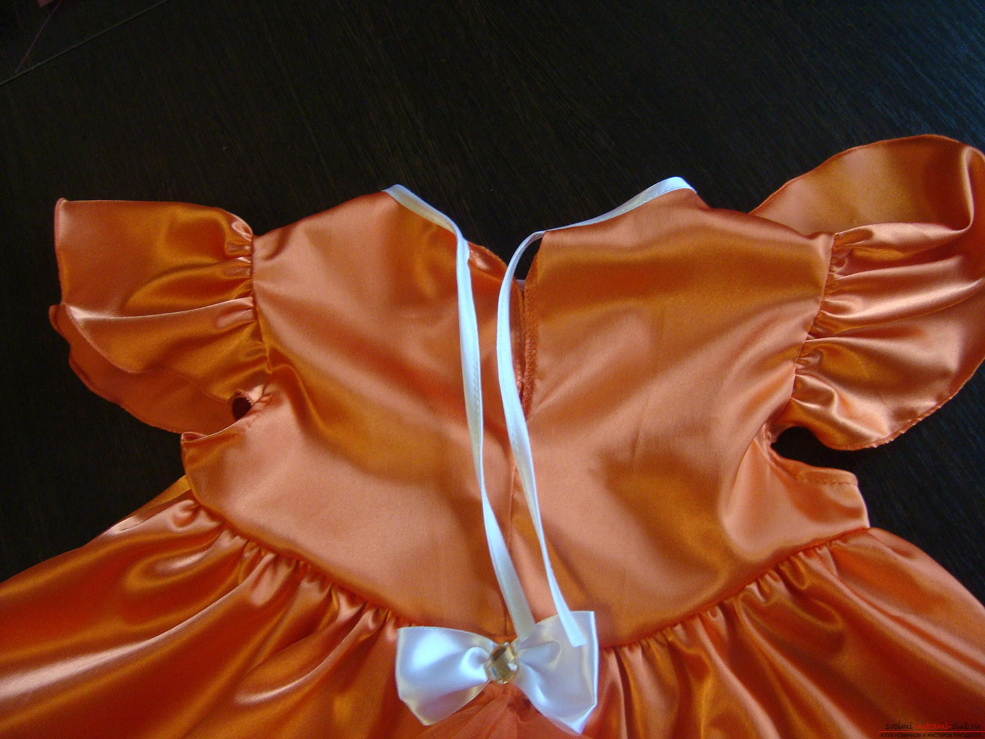 This master class will teach you how to make your own children's carnival fox costume for a girl. Photo №6
