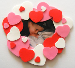 What to do on February 14 with your own hands. Children's handmade hearts.