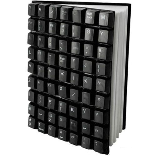 what to do from the old keyboard - the cover of the notebook