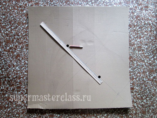 The figure of napkins step by step