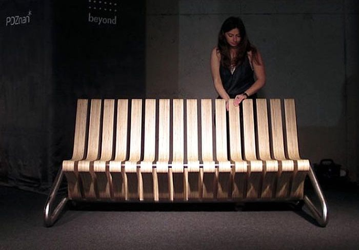 Bench transformer coffee bench