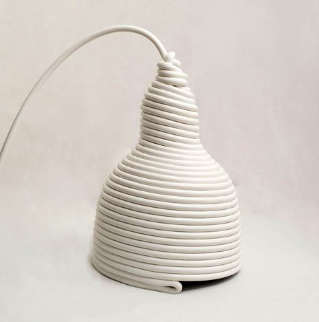 luminaire from wire