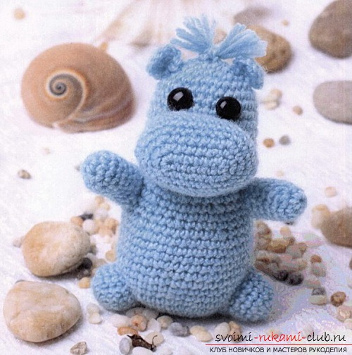 Simple amigur toys for children crocheted. Photo # 2