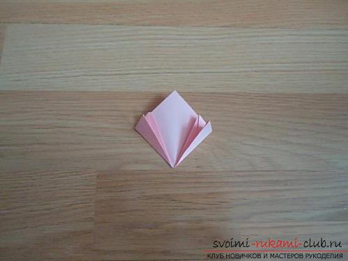 Free master classes for creating modular origami balls, step-by-step photos and description .. Photo # 7
