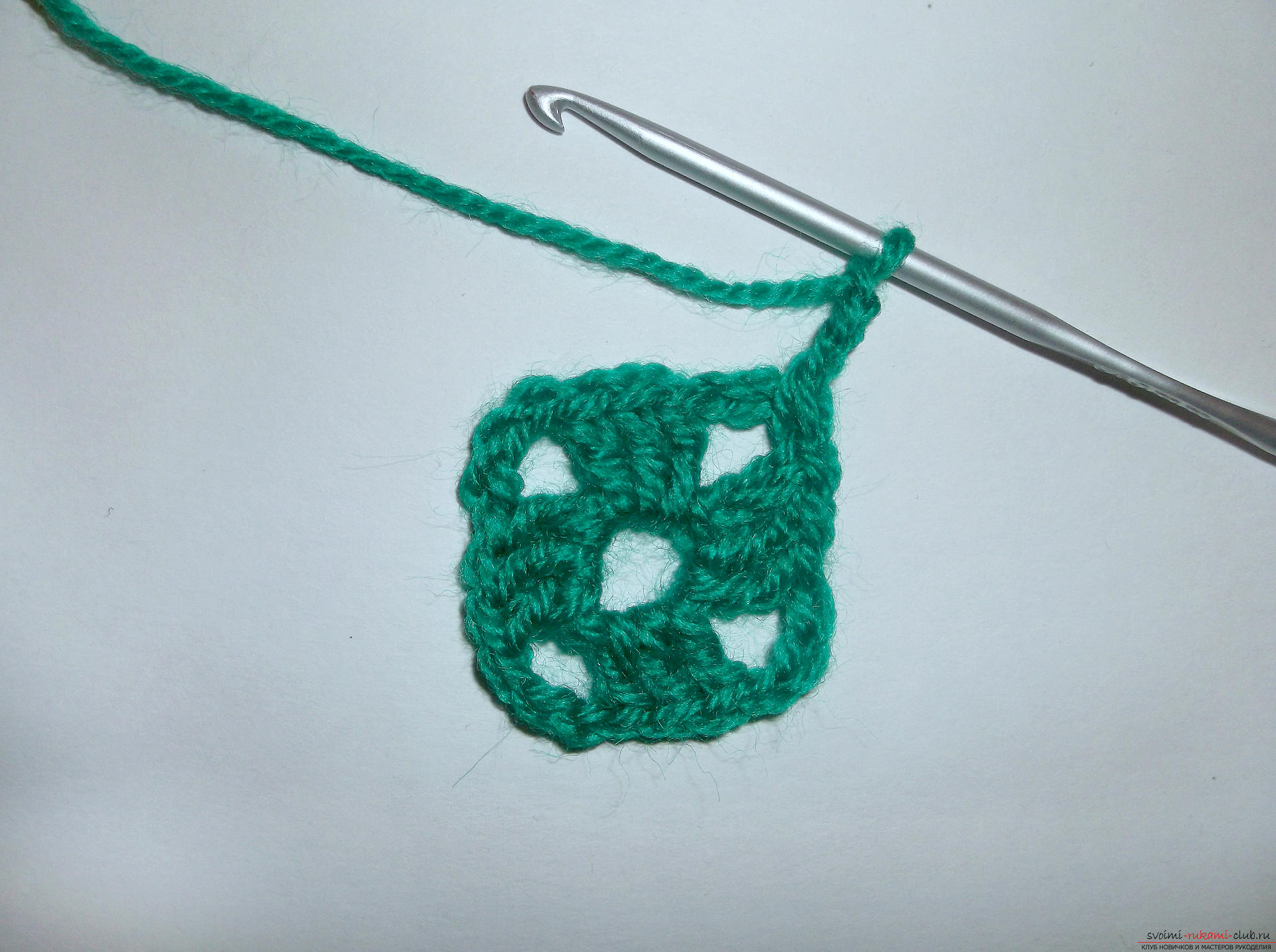 Photo to a lesson on crocheting crochet. Picture №3