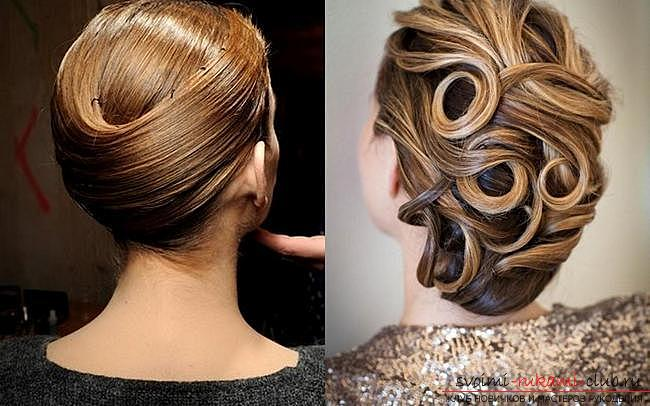 Various options for evening hairstyles for medium hair, tips for creating them and visual examples .. Photo # 8