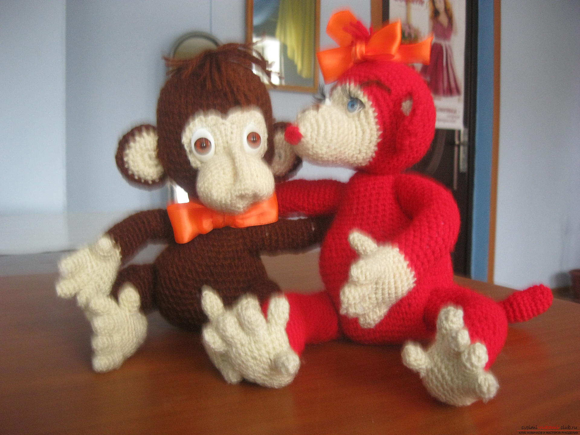In this master class you will learn the idea of ​​crafting for the new year - a monkey with your own hands. Photo №1