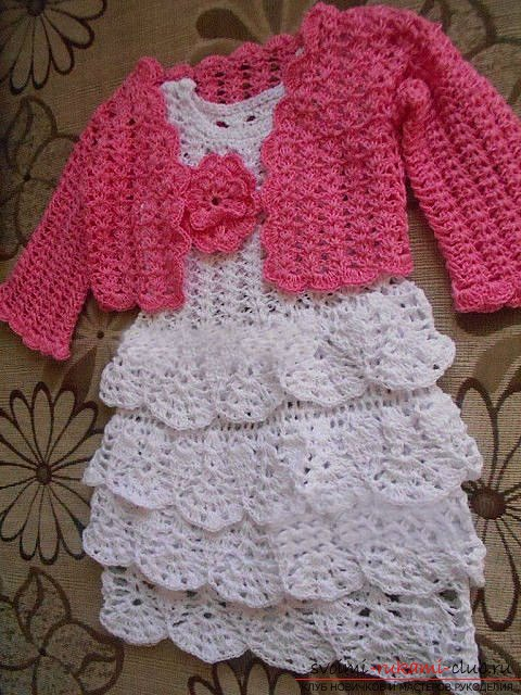 Beautiful children's crochet for beginners. Photo №5
