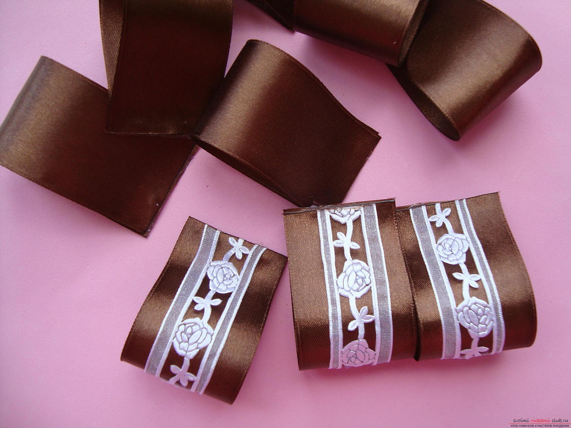 Покрокова інструкція з виготовлення об'ємного краватки і бантів. фото №5