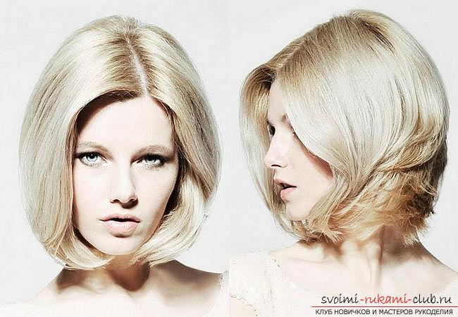 How to make a beautiful hairstyle on medium hair for a celebration with your own hands. Picture №34