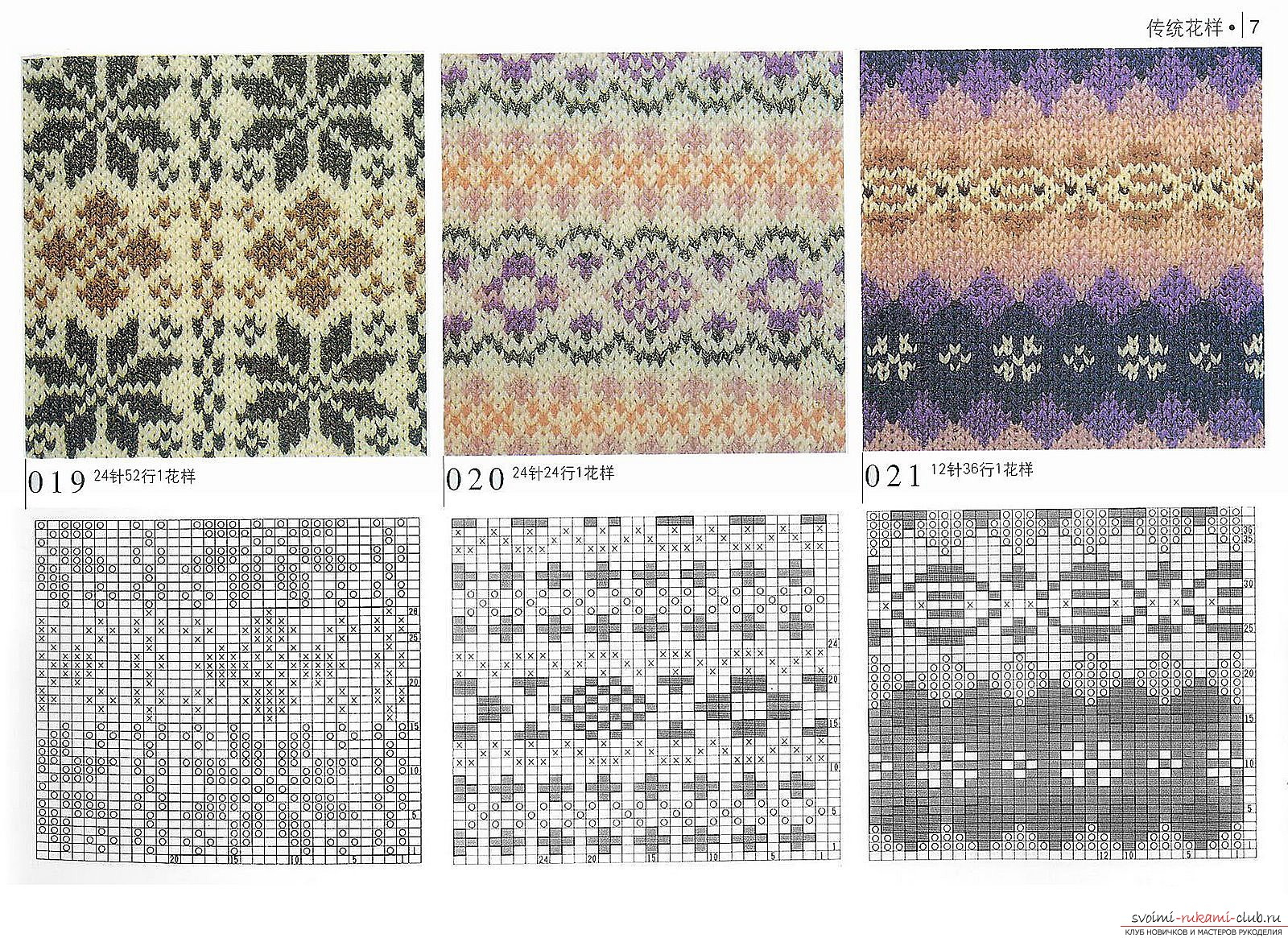 Patterns and patterns for knitting. Photo №6