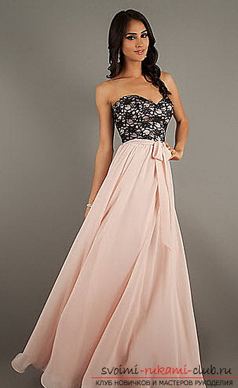 How to prepare and sew a prom dress yourself: Tips, photos for students and graduates of the school .. Photo # 1