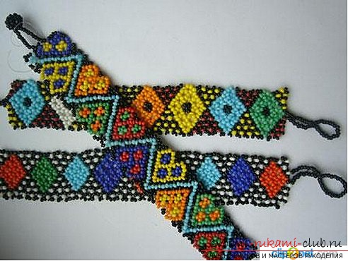 How to make beautiful beaded bracelets for beginners .. Photo # 4