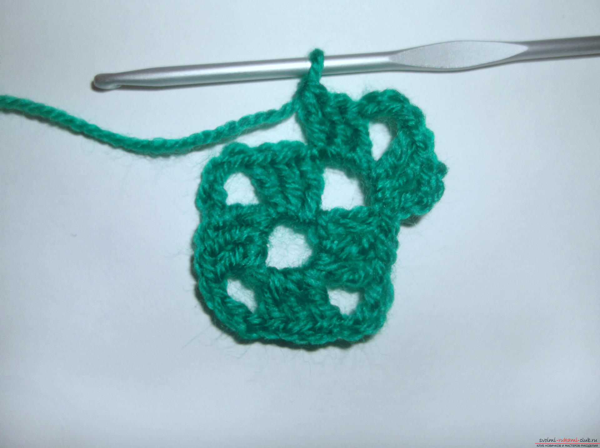 Photo to a lesson on crocheting crochet. Photo №4