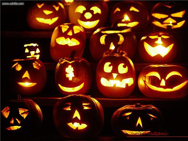 How to make a lamp from a pumpkin with their own hands .. Photo №1