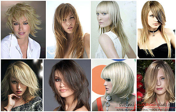 Beautiful hairstyles for thin hair with their own hands - a master class. Photo # 2