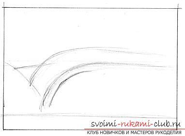Урок за рисуване на морска вълна. Снимка # 2