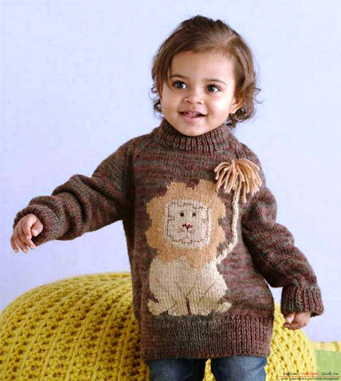 baby knitted sweaters. Photo # 2