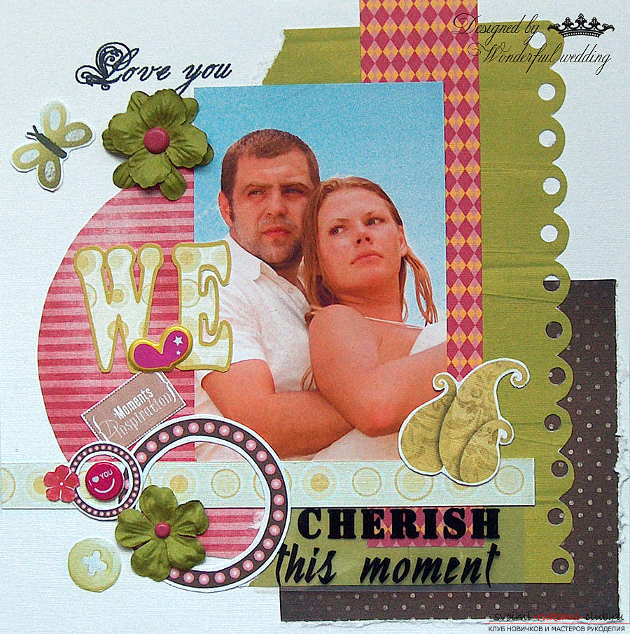 How to make scrapbooking in the American style ?. Picture №3