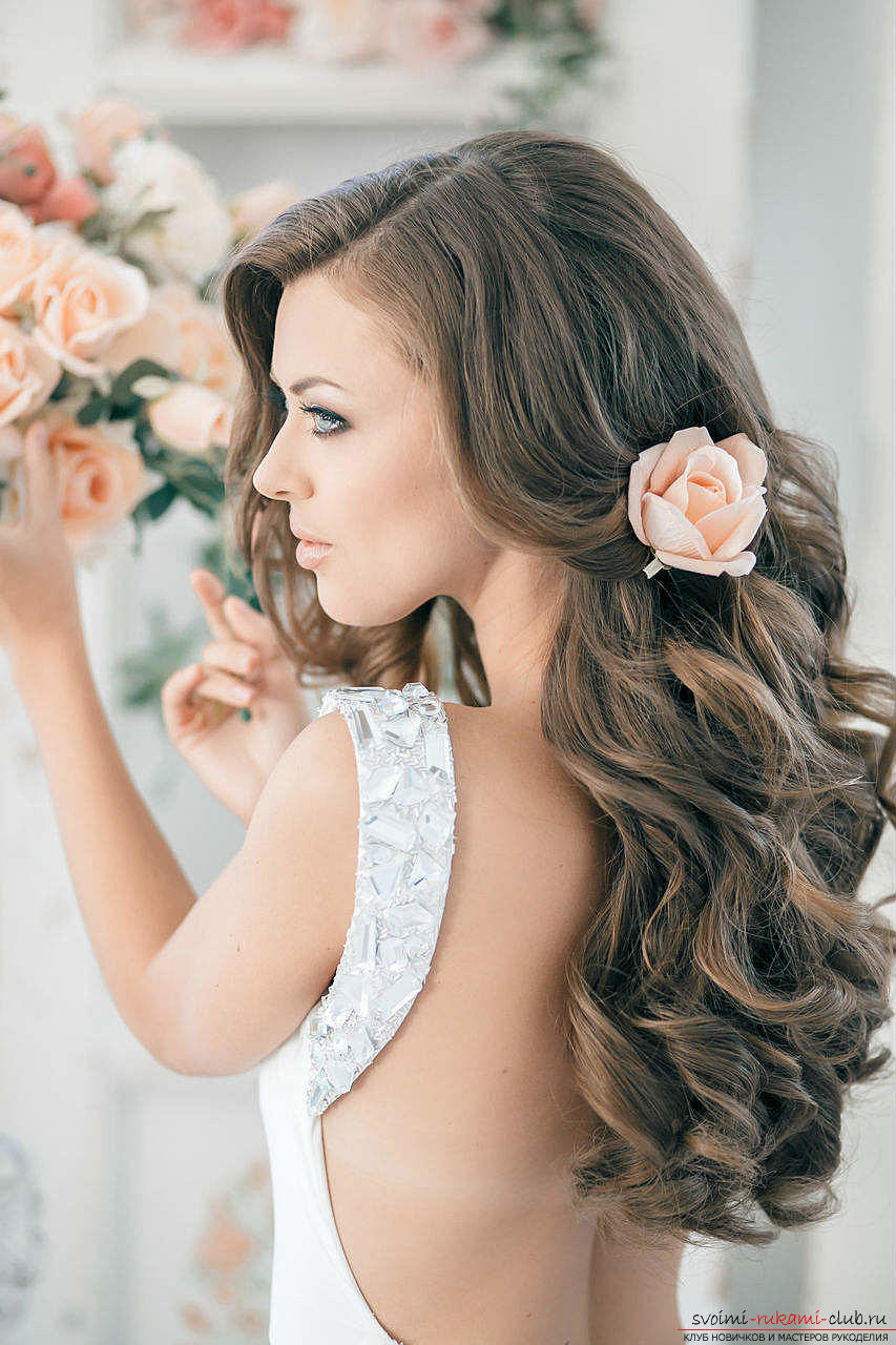 Hairstyles for the bride, topical in 2016. Photo # 2