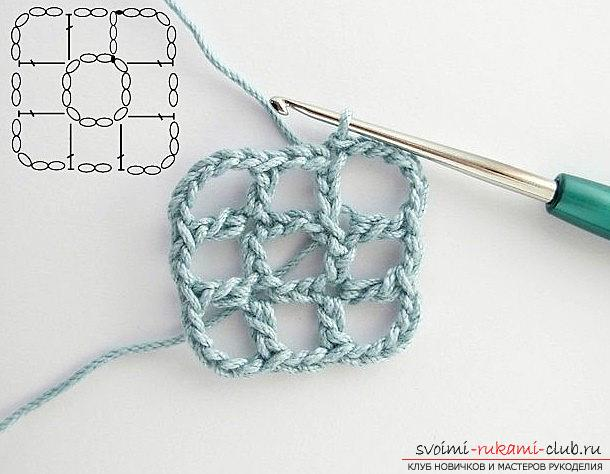 We make a beautiful napkin - crochet patterns and patterns for work. Picture №10