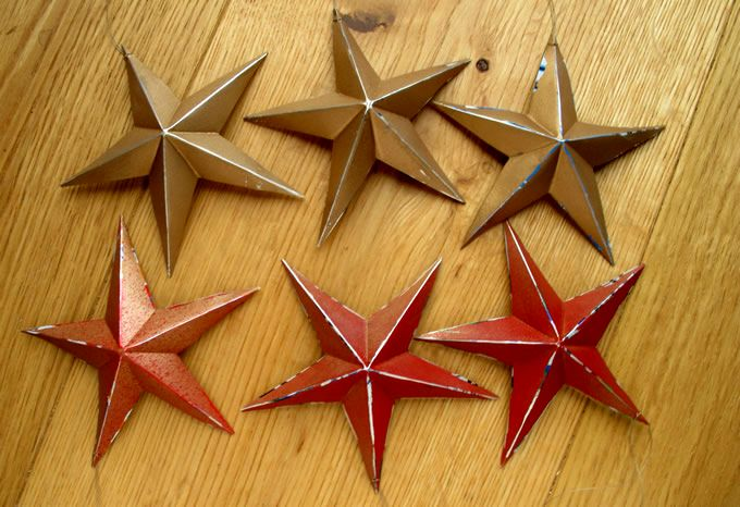asteriskes from beer cans