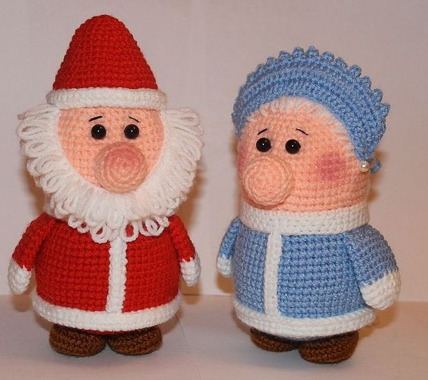 grandfather frost crochet