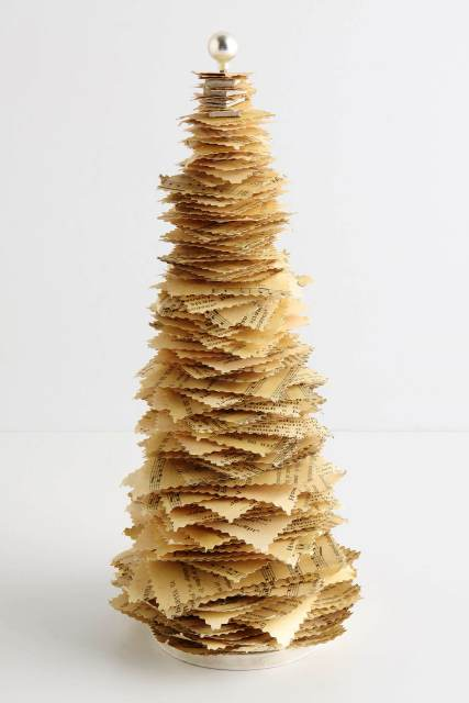 decorative tree of paper with your own hands