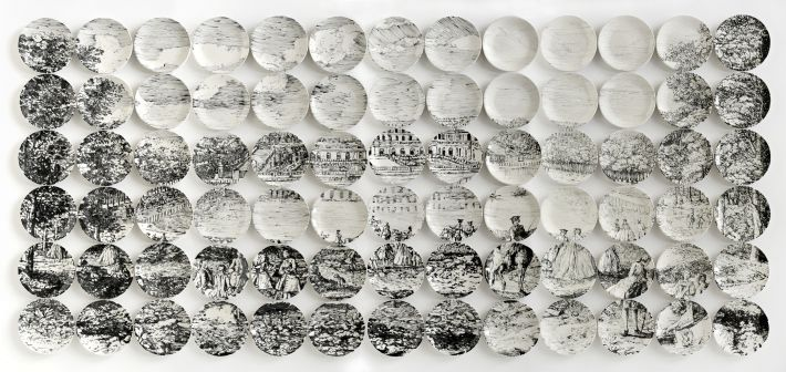 plates - a picture of a mosaic