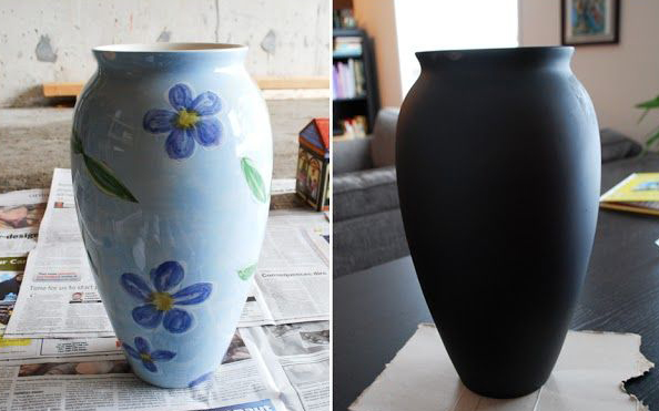 Vase decoration for flowers by own hands