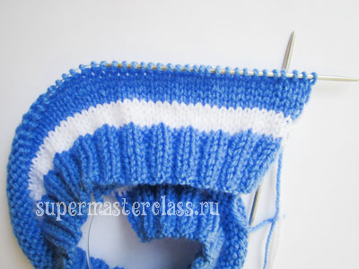 How to knit a baby hat with needles: schemes
