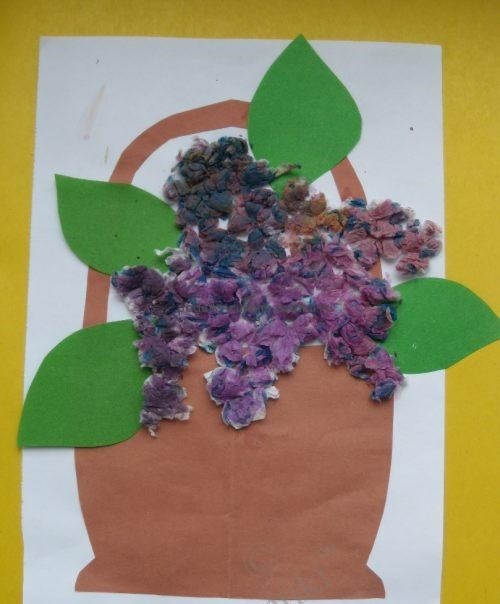 Children's applications. Crafts for children 2 - 3 years (11)