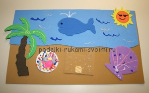 Children's applications. Crafts for children 2 - 3 years (12)