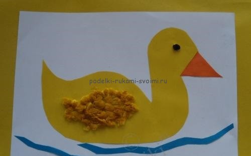 Children's applications. Crafts for children 2 - 3 years