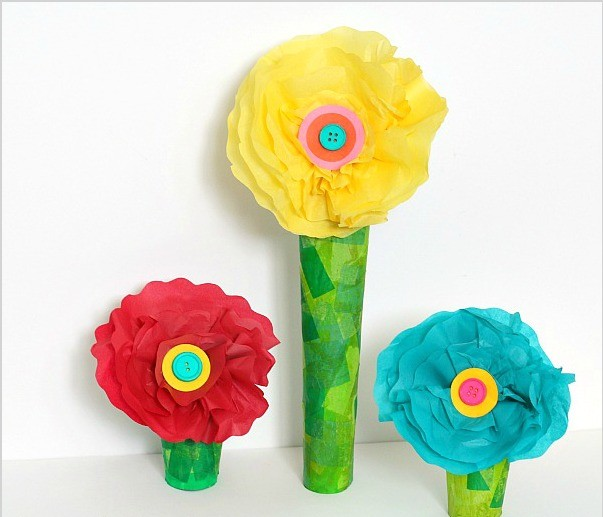 Children's summer crafts with their own hands.