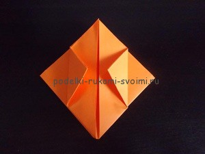 Children's autumn crafts made of paper. origami (29)