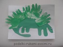 Children's crafts. What can be done from fingerprints