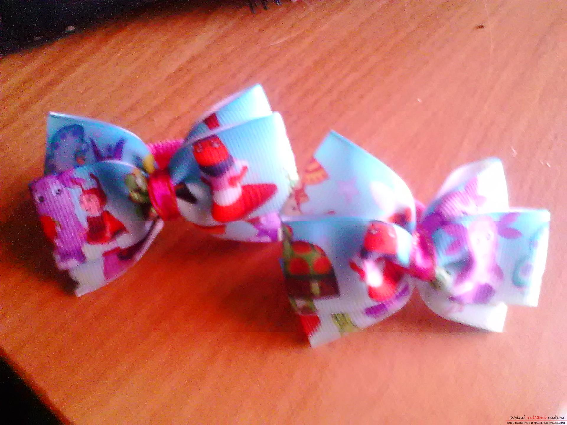 Bright bows. Photo №1