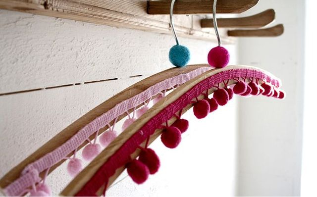 Decor for clothes hangers