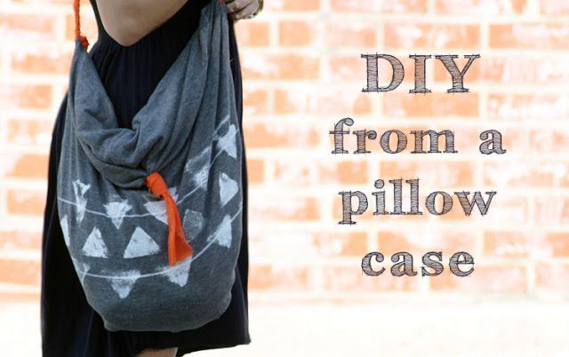 a hobo bag with your own hands from a pillowcase without sewing