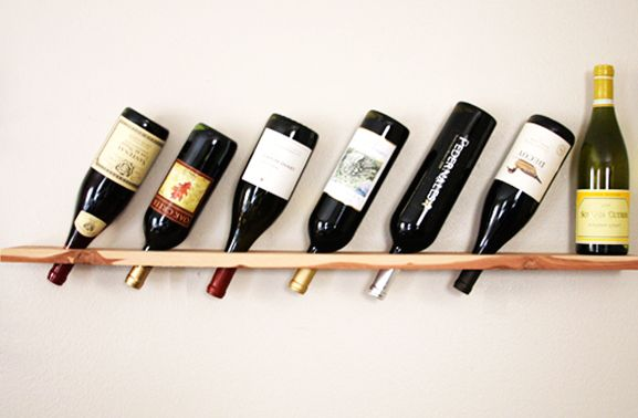 wine bottle rack