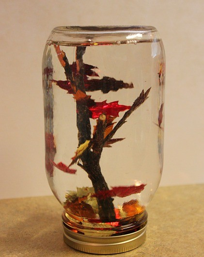 For educators and children. Crafts on the theme of autumn (4)