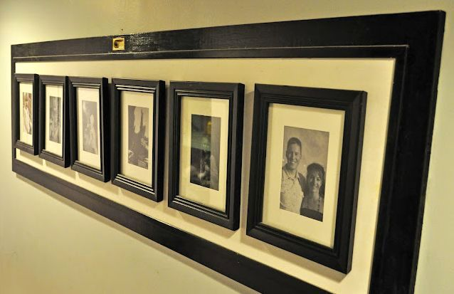 new life of old doors as frames for photos