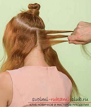 We learn to make a hairdo for the wedding with our own hands. Picture №3
