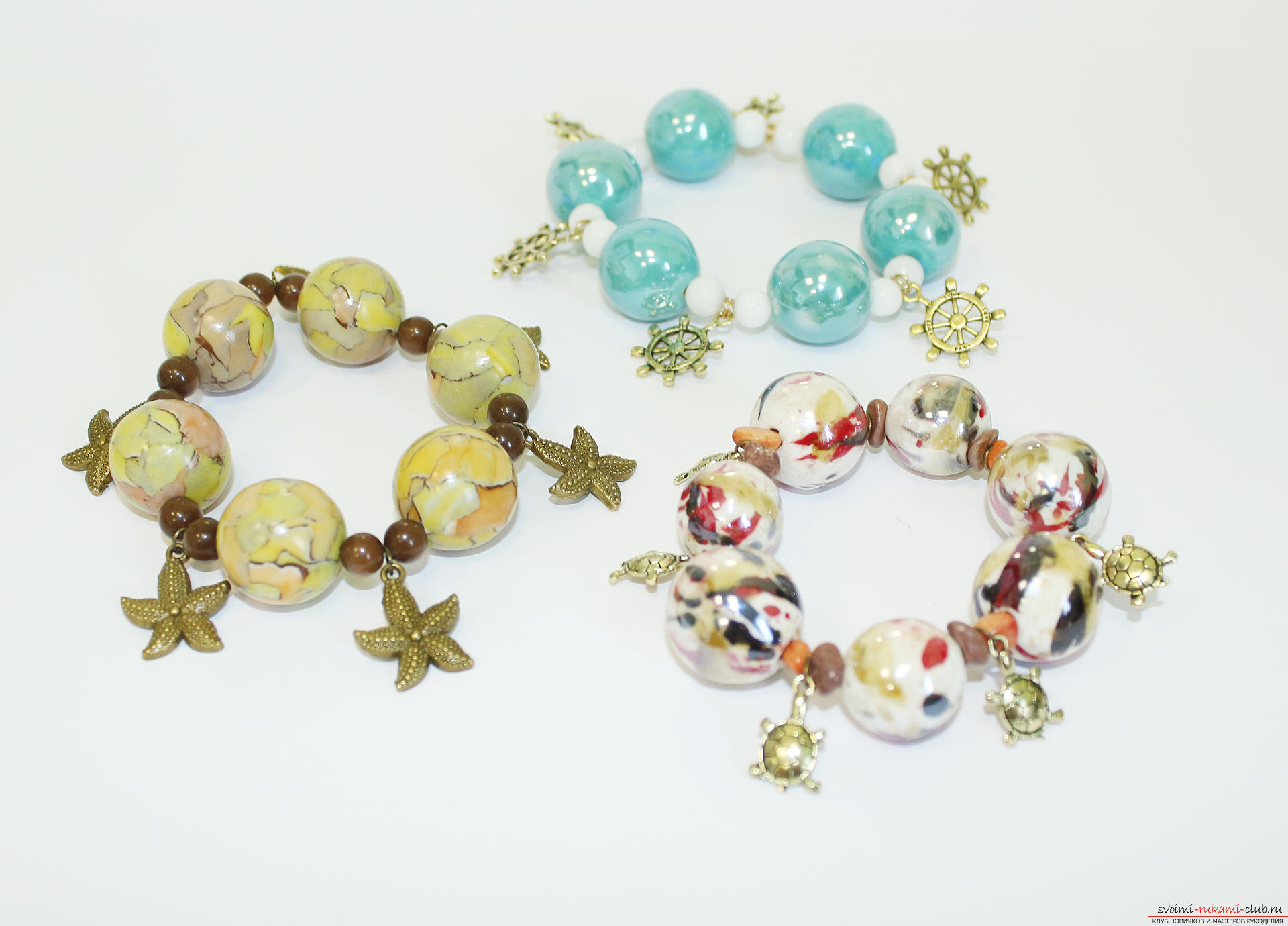 This detailed master class will teach you how to make beautiful beaded bracelets with your own hands .. Photo # 1