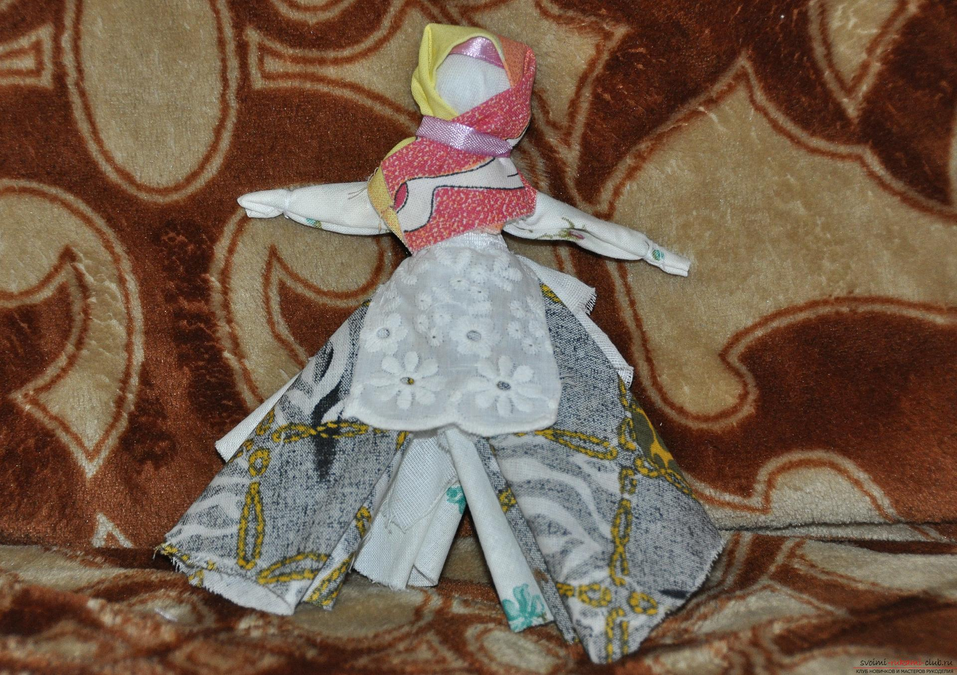 This master class will teach you how to make your own doll-bereginya - a pillar. Photo №1