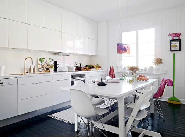 photo examples of interiors of kitchens in the Scandinavian style. Photo №6