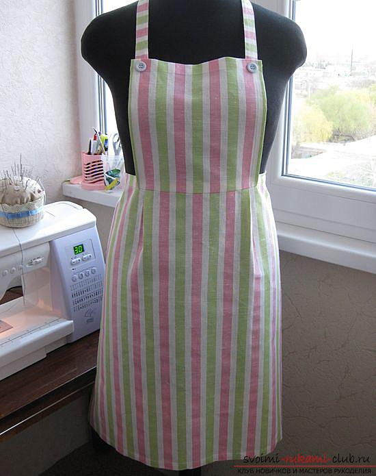 Master class on sewing an apron. Photo №1