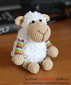 We knit a sheep with our own hands. Photo Number 11