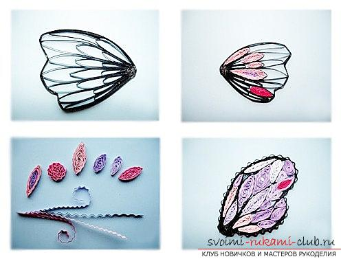 Quilling butterflies - loop quilling and master class with their own hands. Picture №3
